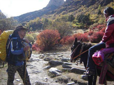 In Tibet.
