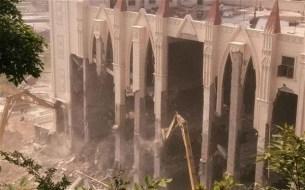 Sanjiang Church demolished (credit: Telegraph)