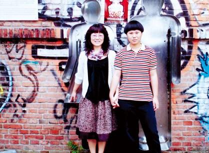 Chen Mingxian and daughter Chen Qiao.