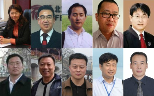 Lawyers detained on July 10. Photo: http://www.hrichina.org/chs/reng-ran-shi-zong-huo-ju-liu-de-wei-quan-lu-shi-he-huo-yue-ren-shi