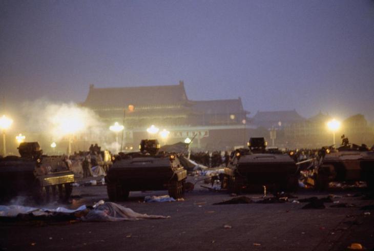 June 4 martial law troops