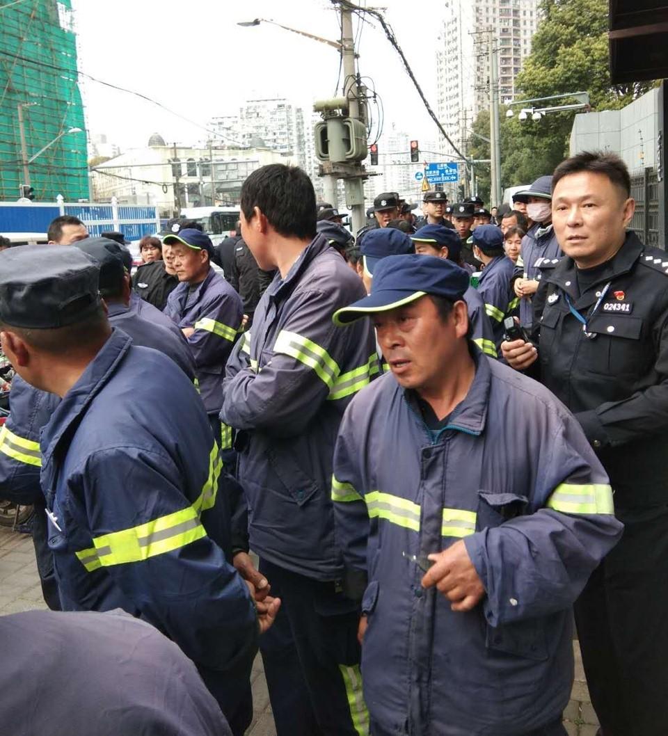 shanghai strike