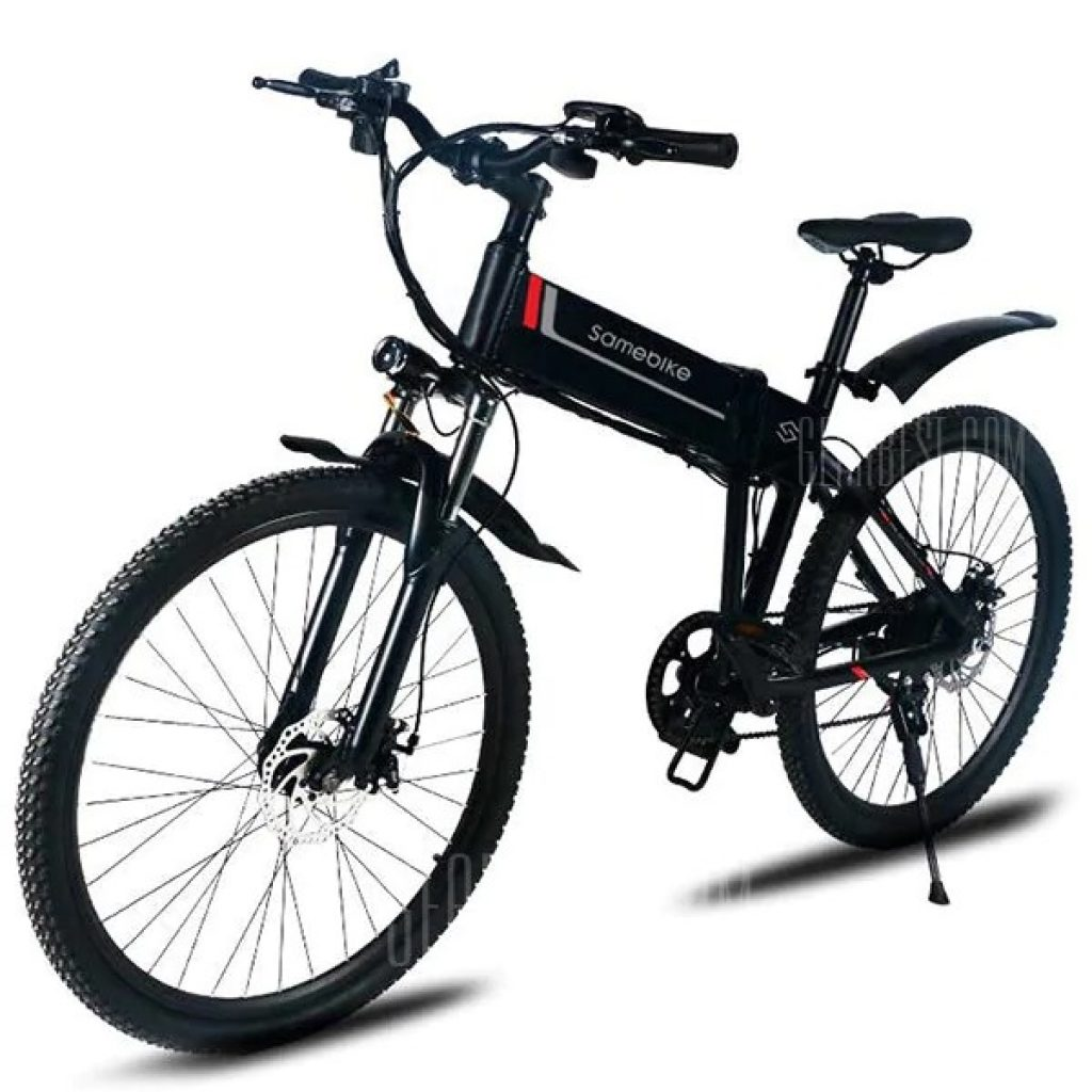 €786 with coupon for Samebike LO26 Electric Moped Bicycle Smart ...