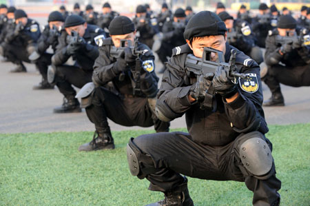 China Holds Anti-Terror Drill after Mumbai Attacks – China ...