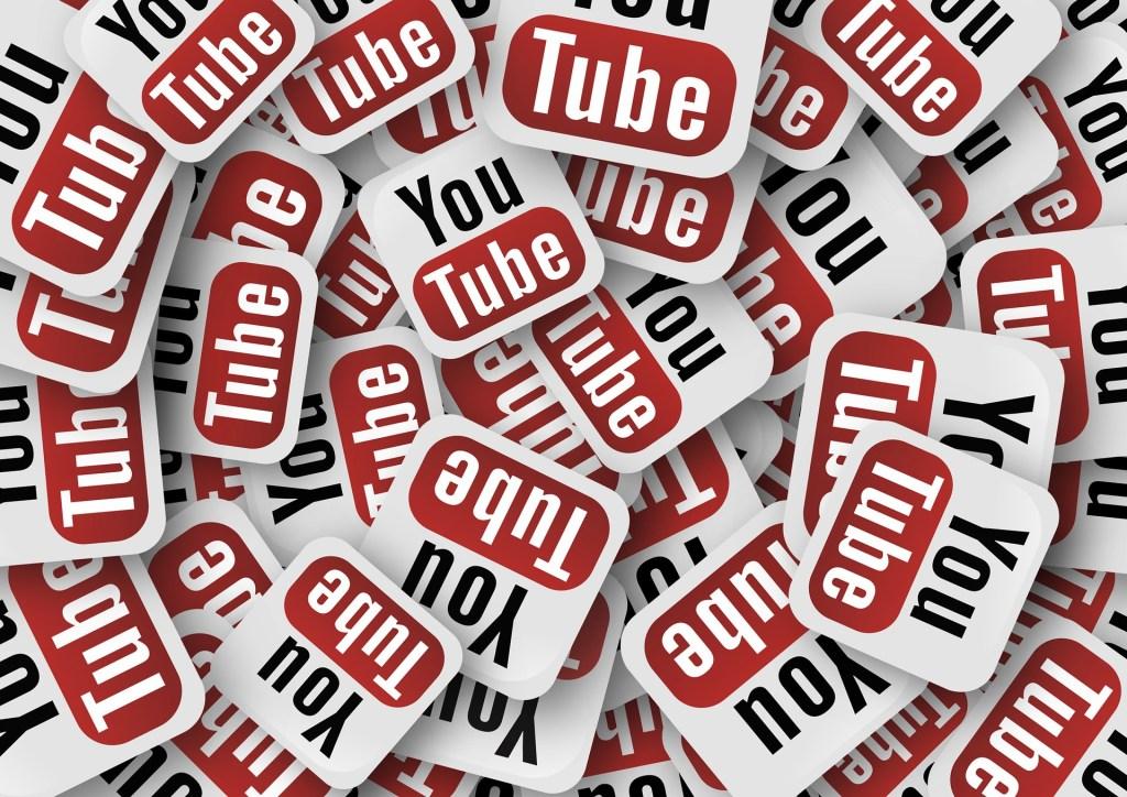 YouTube logos