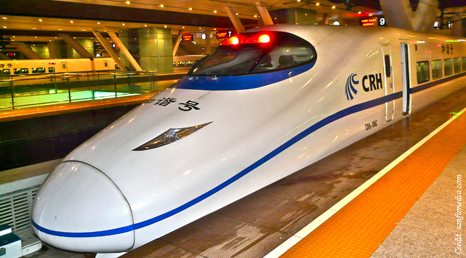 In high-speed rail, the world's loss is China's gain