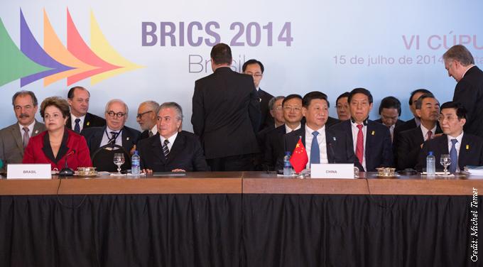 BRICS leaders 2014