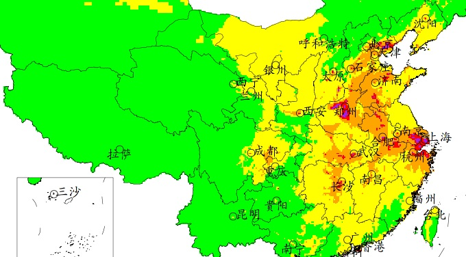 """Short-horse"" national pollution forecast races past laggard efforts of Chinese officials"