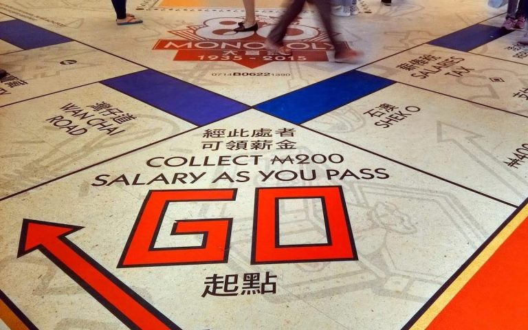 Play China's political version of Monopoly and 'go directly to jail'