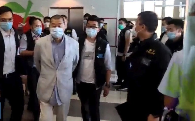 Media mogul Lai released from prison and placed under house arrest