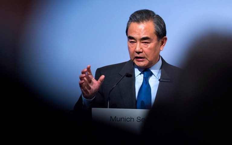 Foreign Minister Wang Yi calls for US reset on China's terms