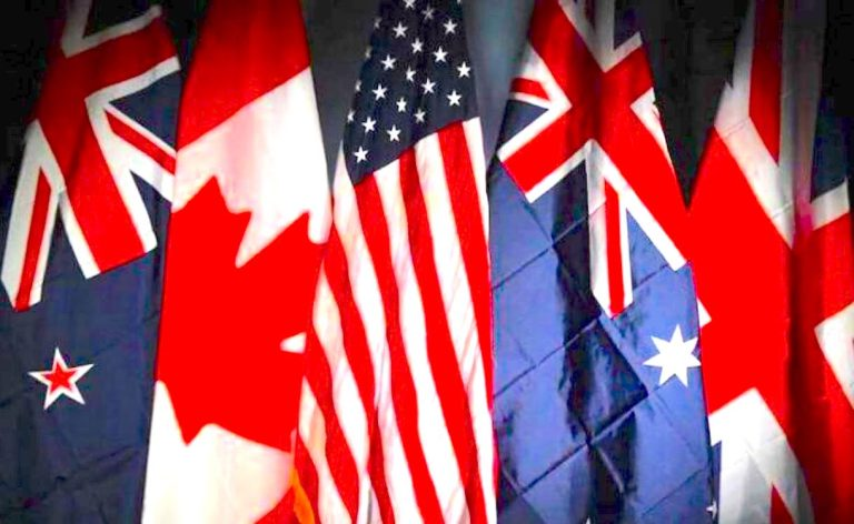 'Genocide, white supremacy' and the Five Eyes