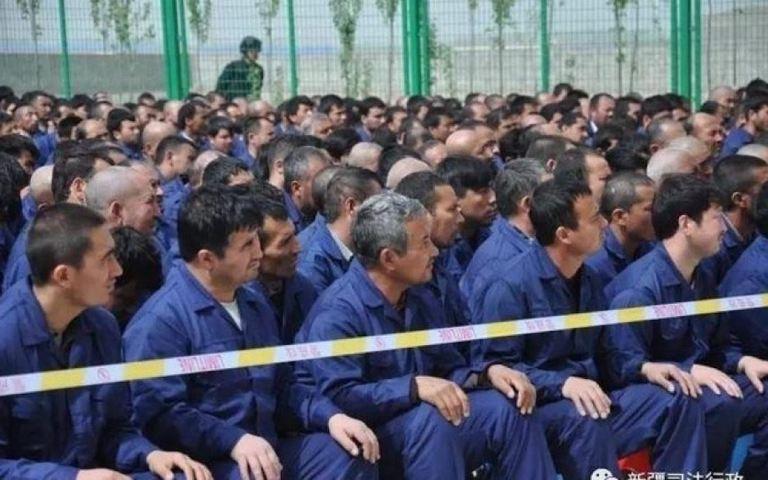 China calls Xinjiang repression 'lies' amid sanctions blitz