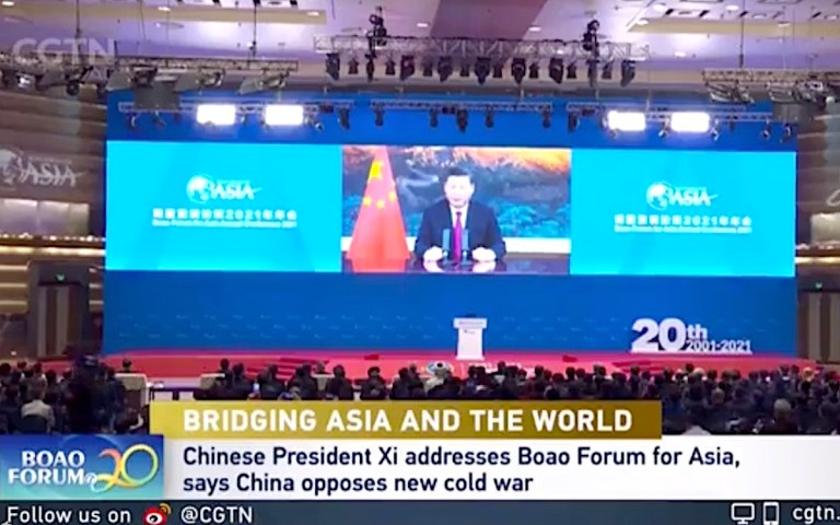 President Xi warns about the dangers of a 'New Cold War'