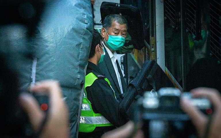 Hong Kong targets bank accounts of jailed tycoon Jimmy Lai