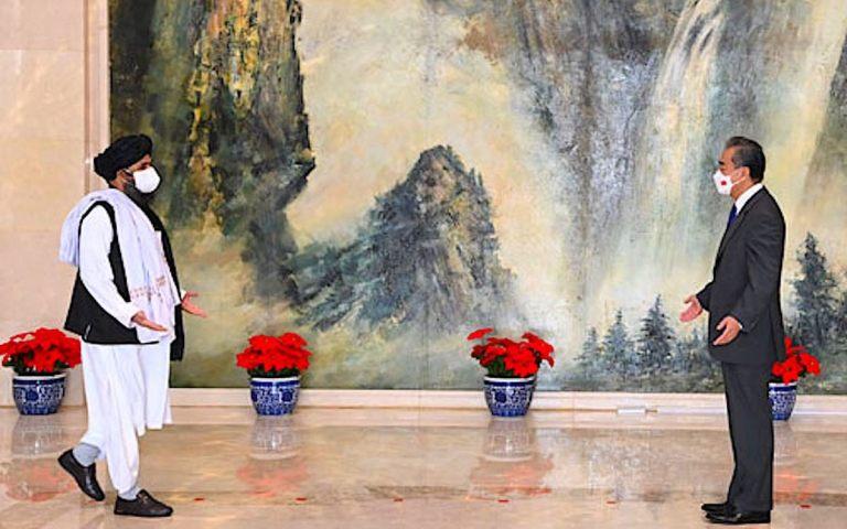 China walks a fine line in Taliban talks amid Kabul turmoil