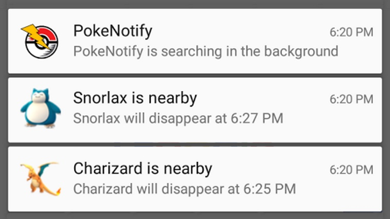 poke notify