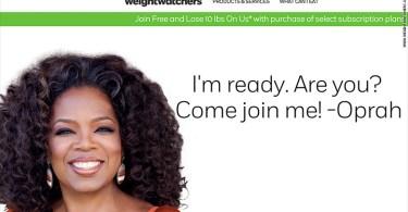 weight watchers login