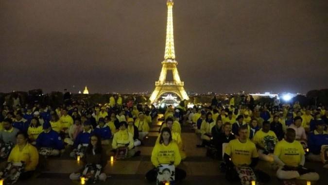 Prélèvement-d'organes-Manifestation- Falun-Gong-Paris
