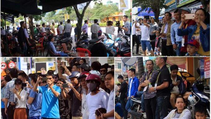 la-population-de- Đà-Nẵng-accueille-Trump