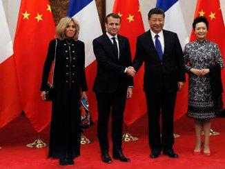 Macron-en-Chine