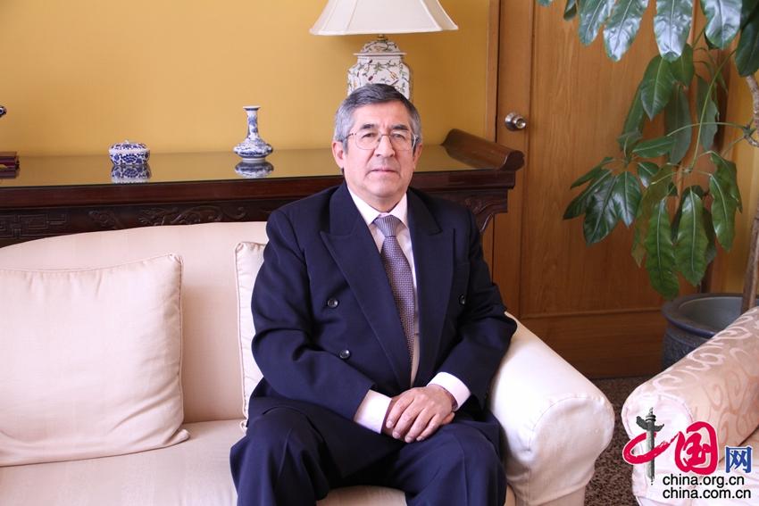 Embajador Capuñay de Perú: La relación con China es cada vez más estrecha1