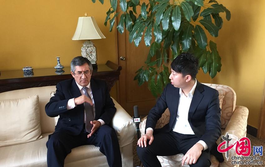 Embajador Capuñay de Perú: La relación con China es cada vez más estrecha2