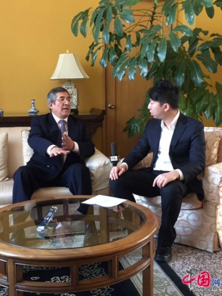 Embajador Capuñay de Perú: La relación con China es cada vez más estrecha5