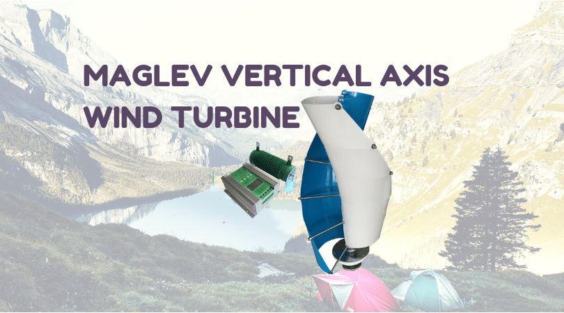 maglev vertical axis wind turbine