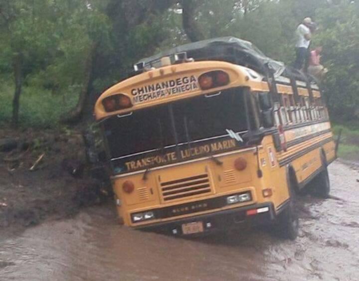 Inundaciones en Chinandega