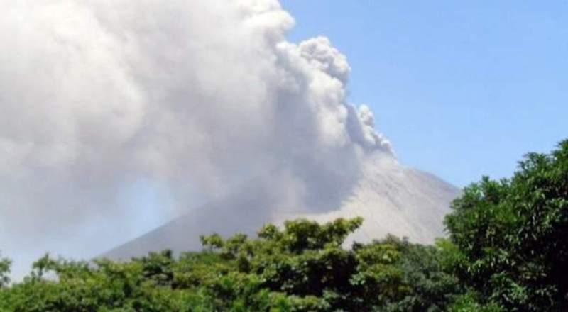 Volcán San Cristóbal en Chinandega