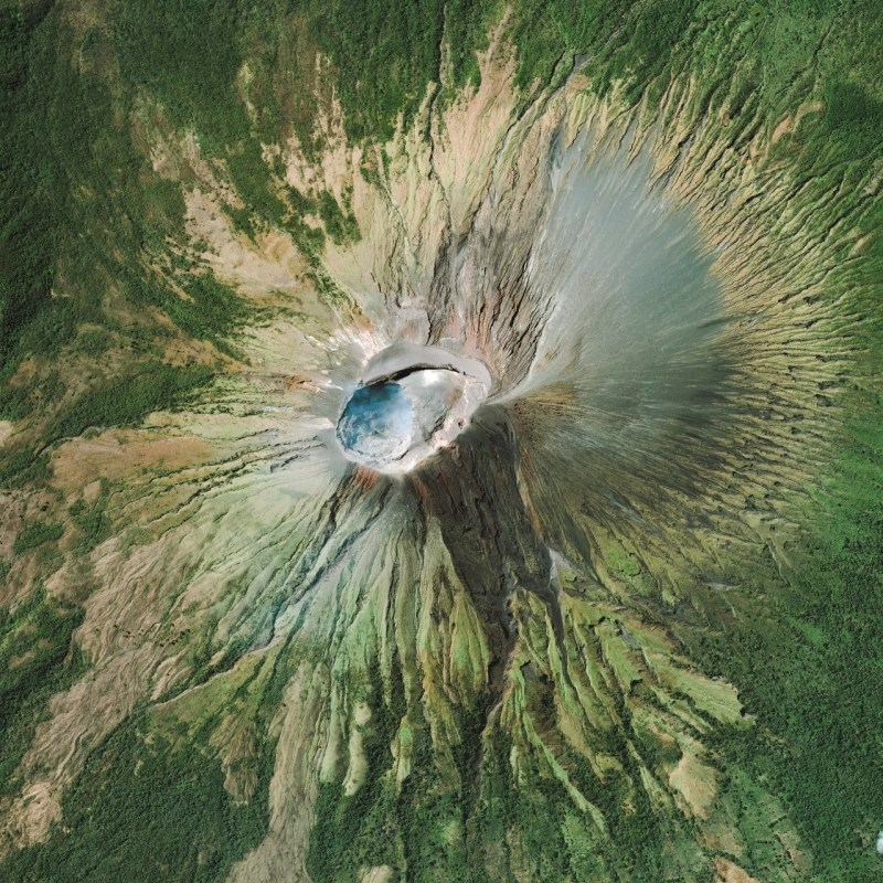 Vista Aérea del Volcán San Cristóbal
