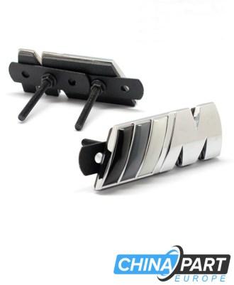 M-Tech M Series Priekinių grotelių ženkliukas (Grey)