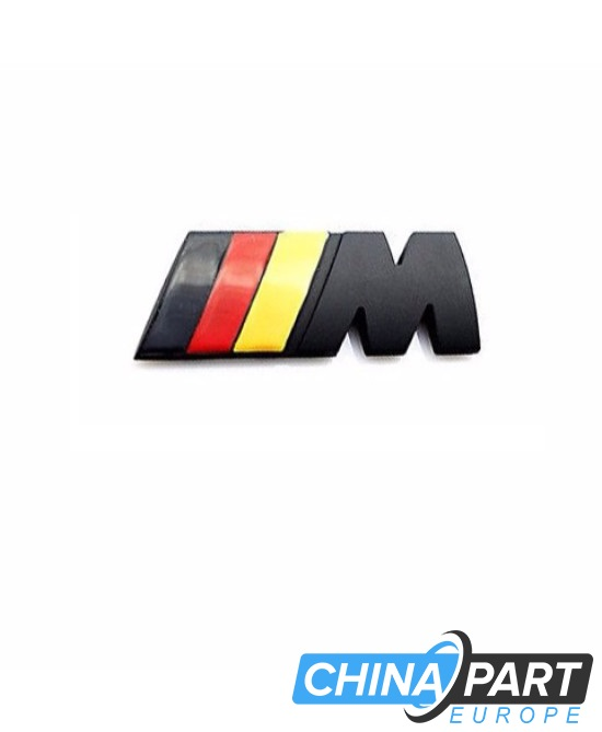 BMW M-Tech M Series ženkliukas emblema (German black)