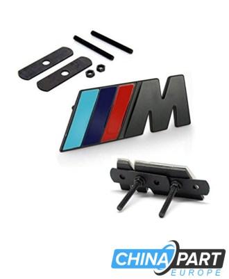M-Tech M Series Priekinių grotelių ženkliukas (Black)