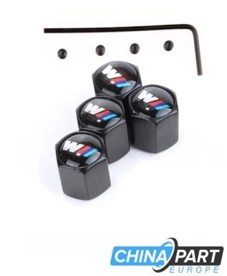 """M-Tech M Series Ventilių dangteliai (""""Anti-Theft"""") (Black)"""
