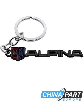 Alpina Metalinis raktų pakabukas (Black)