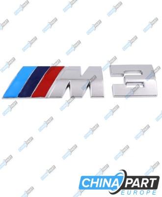 M3 M Series Ženkliukas emblema (Silver)