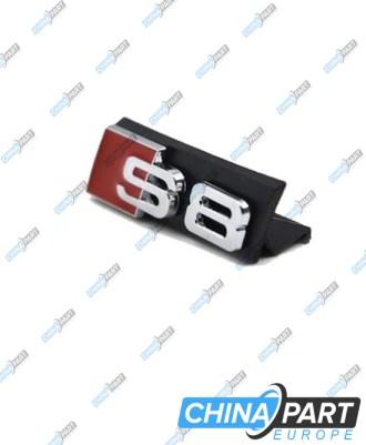 S8 Priekinių grotelių ženkliukas
