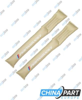 M-Tech Tarpų tarp sėdynių užpildymo pagalvėlės (Beige)