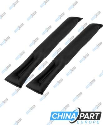 Tarpų tarp sėdynių užpildymo pagalvėlės (Black)