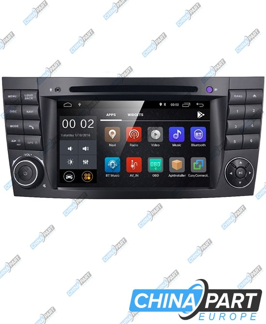 Mercedes Benz E W211 CLS W219 Multimedia with navigation (Android 8.1)