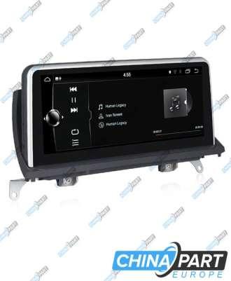 BMW X5 E70 X6 E71 Multimedija su navigacija (Android 7.1) CCC Sistemai (Naujas UL interface)