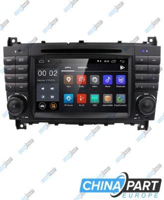 Mercedes Benz C Klasės W203 CLK W209 Multimedija su navigacija (Android 8.1)
