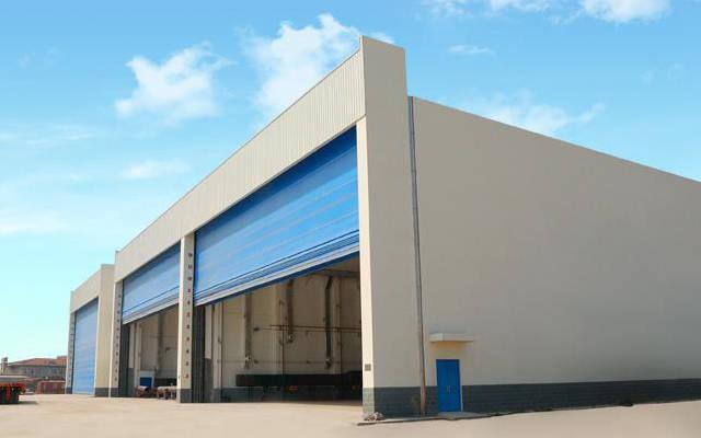 hangar for plane
