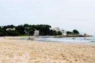A photo of Cheung Sha beach in Hong Kong.