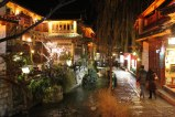 Lijiang at night.