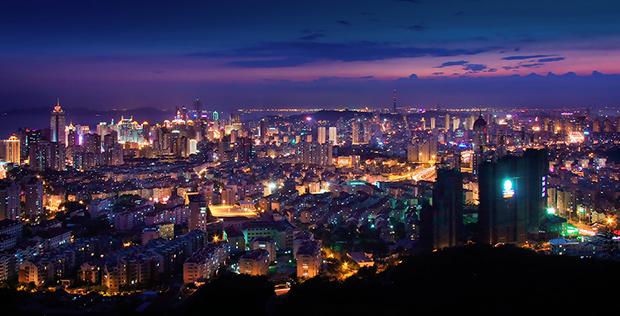 Qingdao Night scene