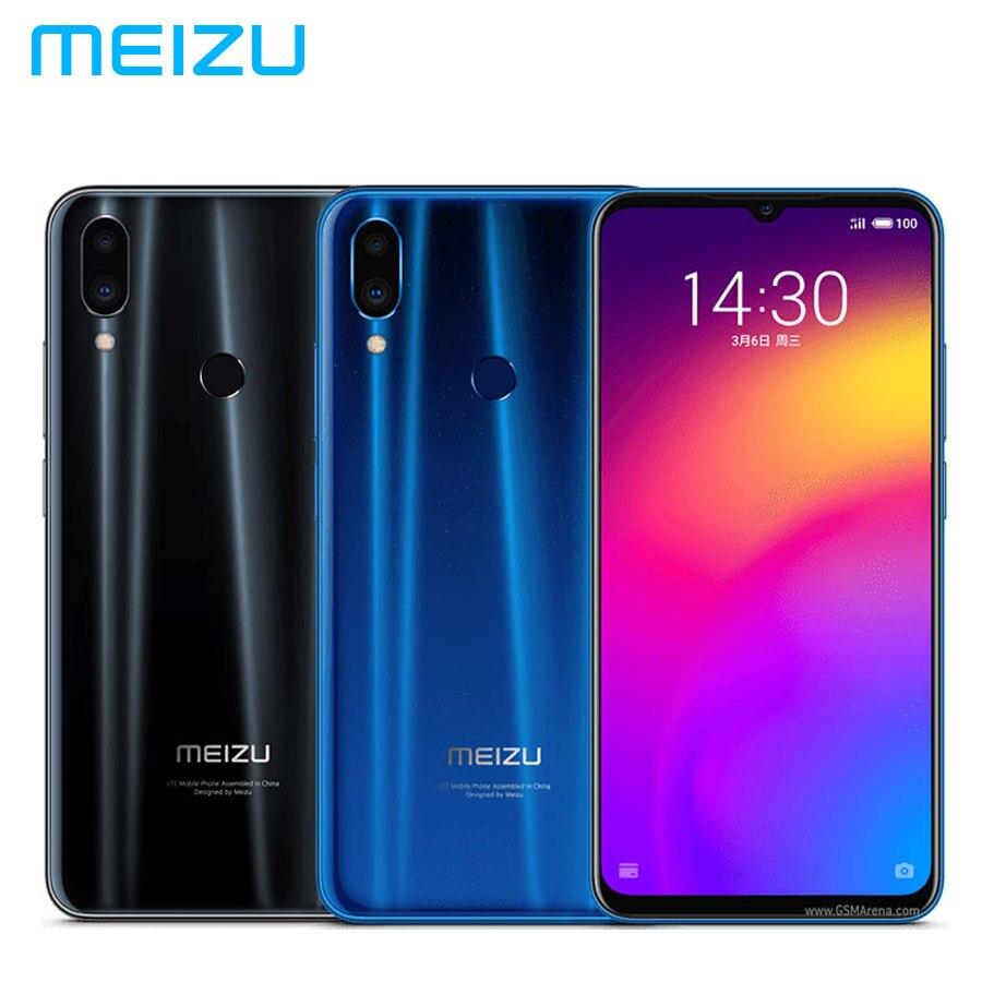 "MEIZU Note 9 LTE 4G мобильный телефон 4 Гб оперативная память 128 ГБ Встроенная Snapdragon675 Octa Core 6,2 ""1080x2244 p 4000 мАч 48MP + 5MP Android 9,0"