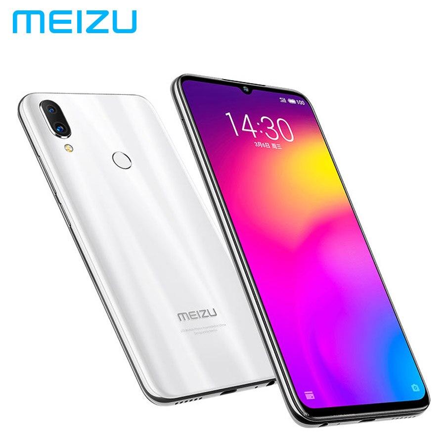 MEIZU Note 9 LTE 4G мобильный телефон Dual SIM 48MP камера Гб 64 Snapdragon675 Octa Core 6,2 дюймов 1080x2244 p 4000 мАч батарея